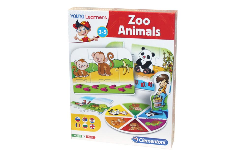 GAME ZOO ANIMALS CLEMENTONI 50509 | UNIKATOY toys