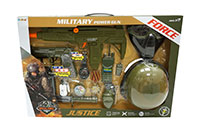 MILITARY WEAPON PLAY SET BAT.24717